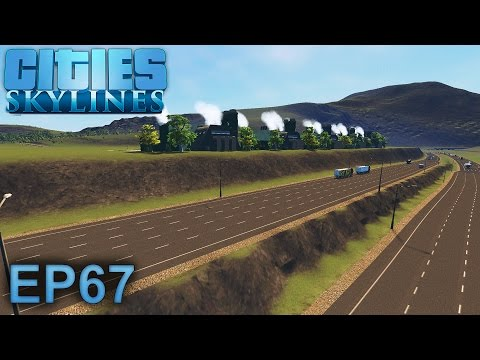 Cities Skylines Gameplay | New Water. New Traffic. No Tubes. | Episode 67
