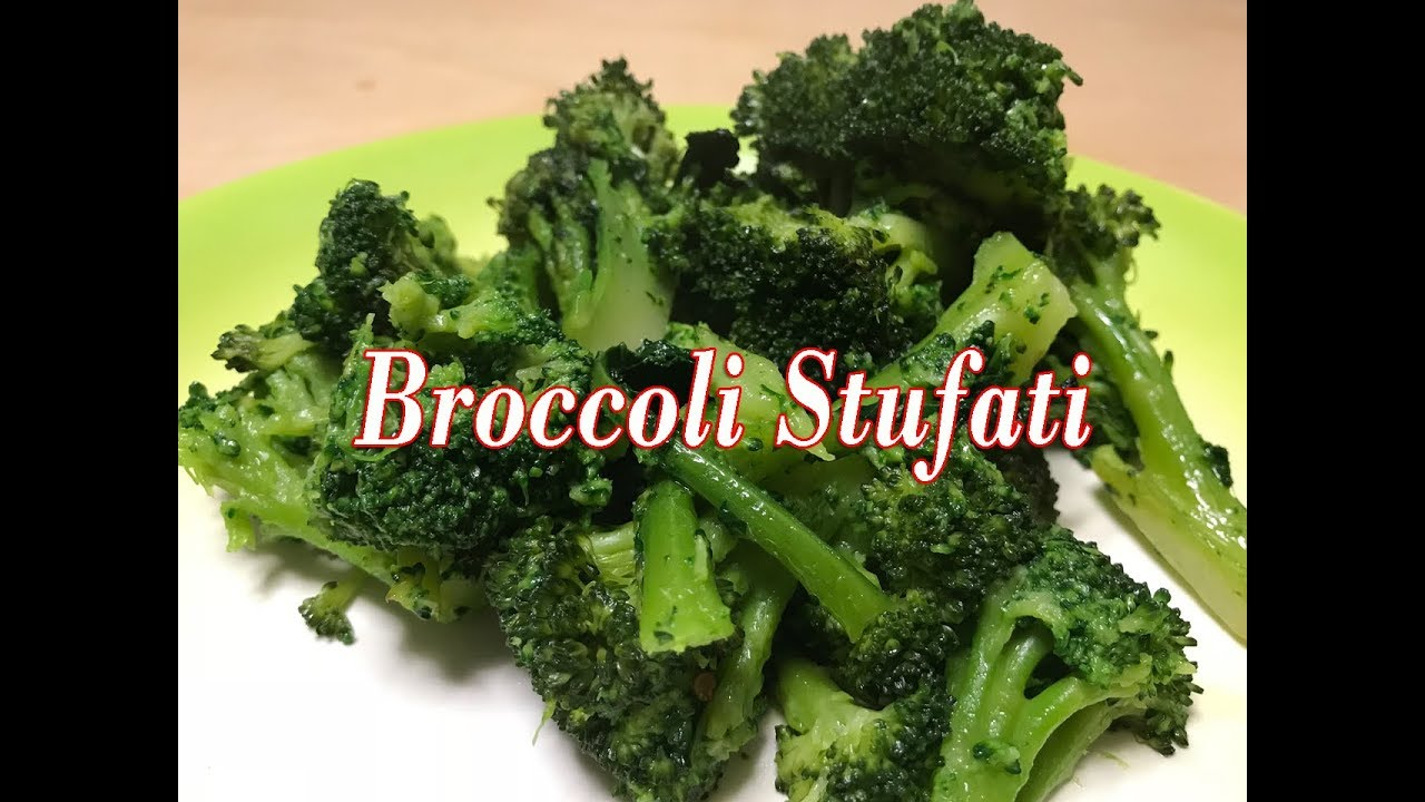 Broccoli stufati ricetta facilissima youtube
