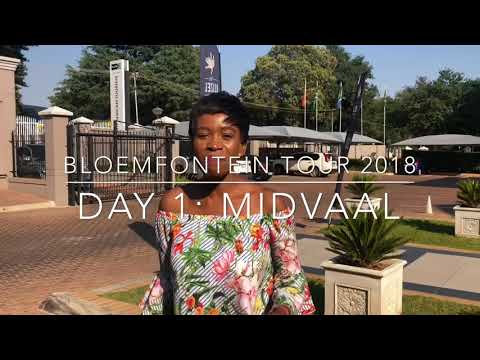 BLOEMFONTEIN TOUR 2018 - DAY 1: MIDVAAL