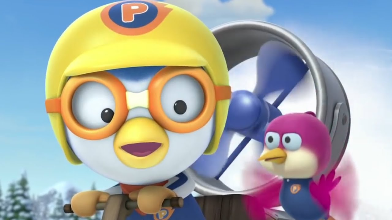 Pororo and his friends invent a jet engine sled youtube altavistaventures Image collections