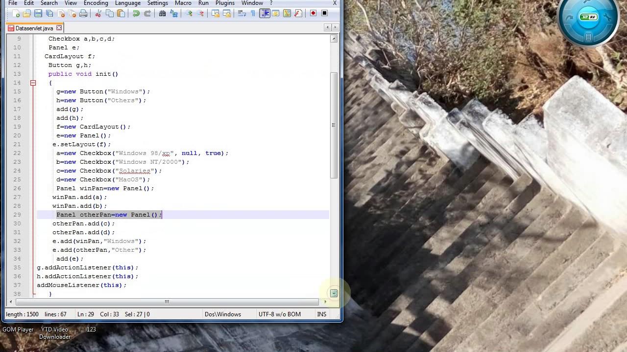 Java swing gui tutorial 18 cardlayout youtube java swing gui tutorial 18 cardlayout gumiabroncs Choice Image