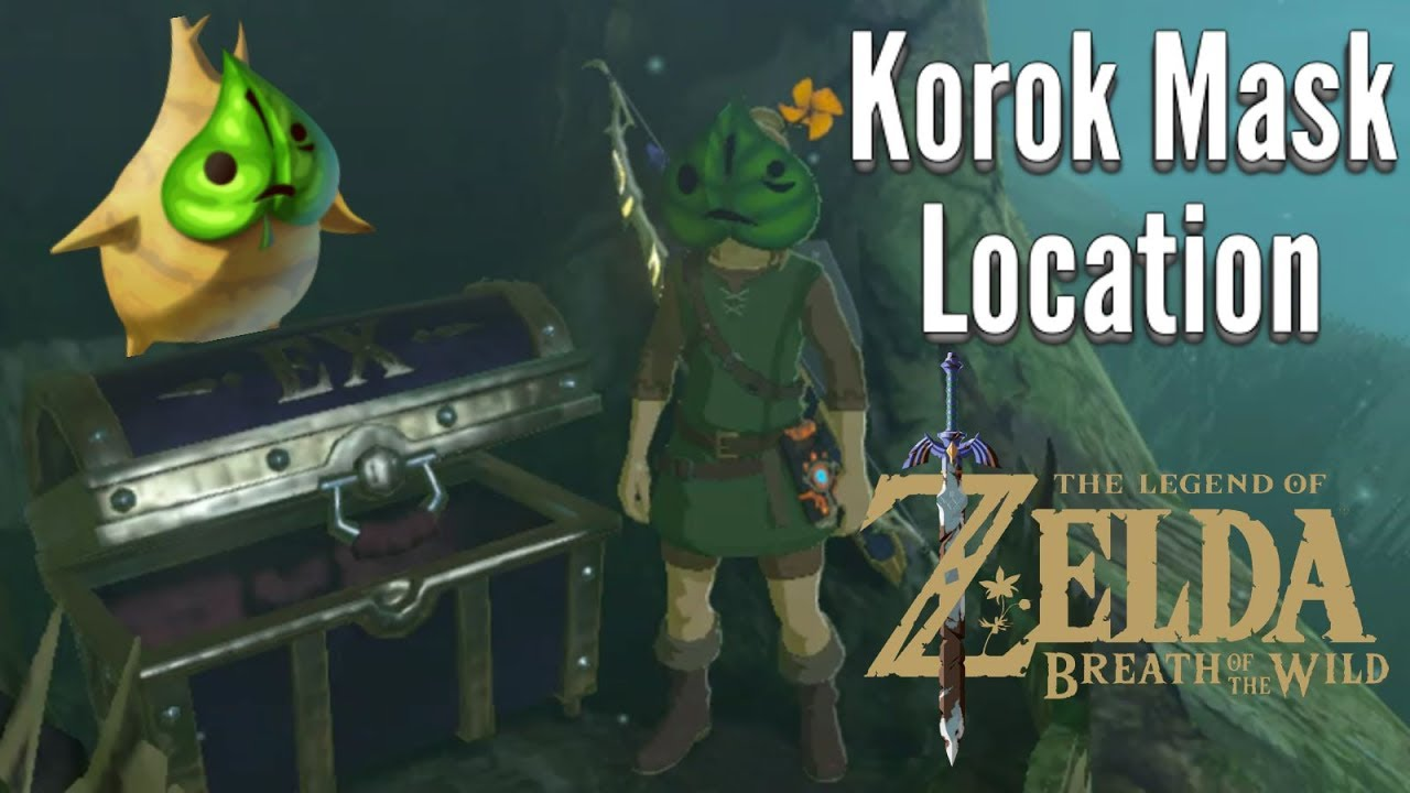 Korok Mask Location And Other Items Hints Zelda Botw Dlc 1 Youtube 4.5 out of 5 stars 85. korok mask location and other items hints zelda botw dlc 1