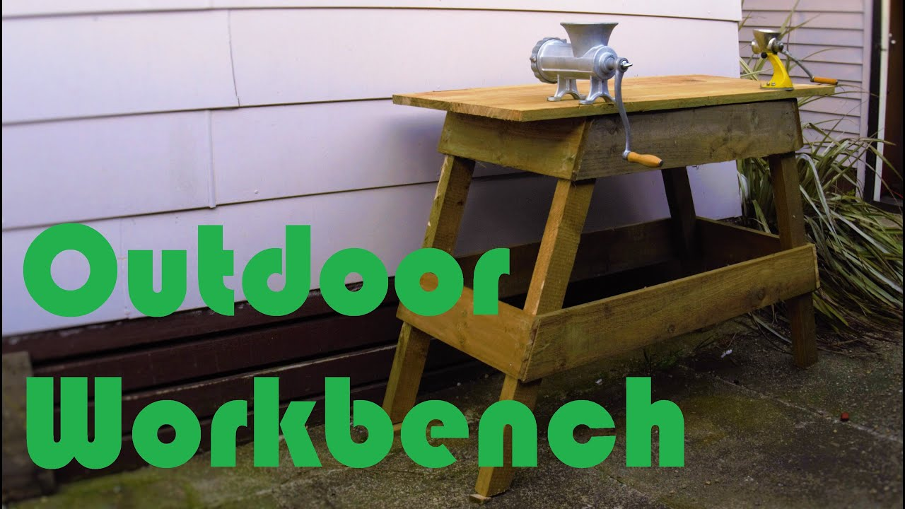 Outdoor Workbench
