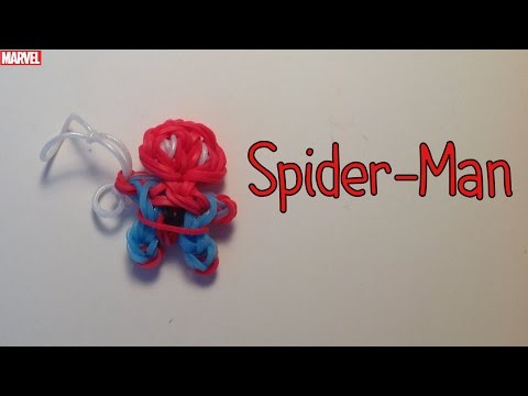 Rainbow Loom Spider-Man Charm | Marvel | Tidbits