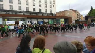 Flashmob contra el cáncer en Soria