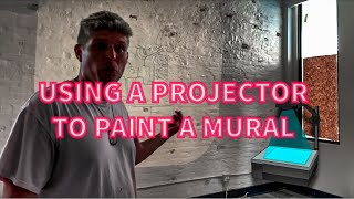 I USED A PROJECTOR ON A MURAL AND DIDN'T DIE  STU TIME CLIPS  Zachary Rutter Art