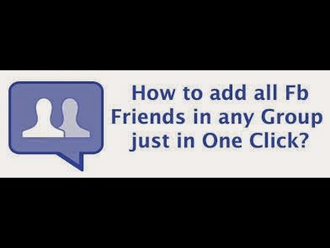 how to suggest friends on facebook all at once