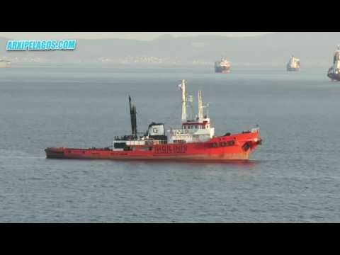 HELLAS - (SALVAGE TUG) IMO 7419690 GIGILINIS SHIPPING GROUP
