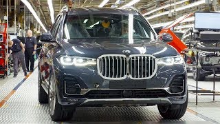 BMW X7 (2019) - Production line in Spartanburg - German car factory in USA