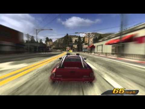 Burnout 3 All Gold PS2 Gameplay Part 1