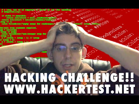 Hacking Challenge Complete! - Full HackerTest.net