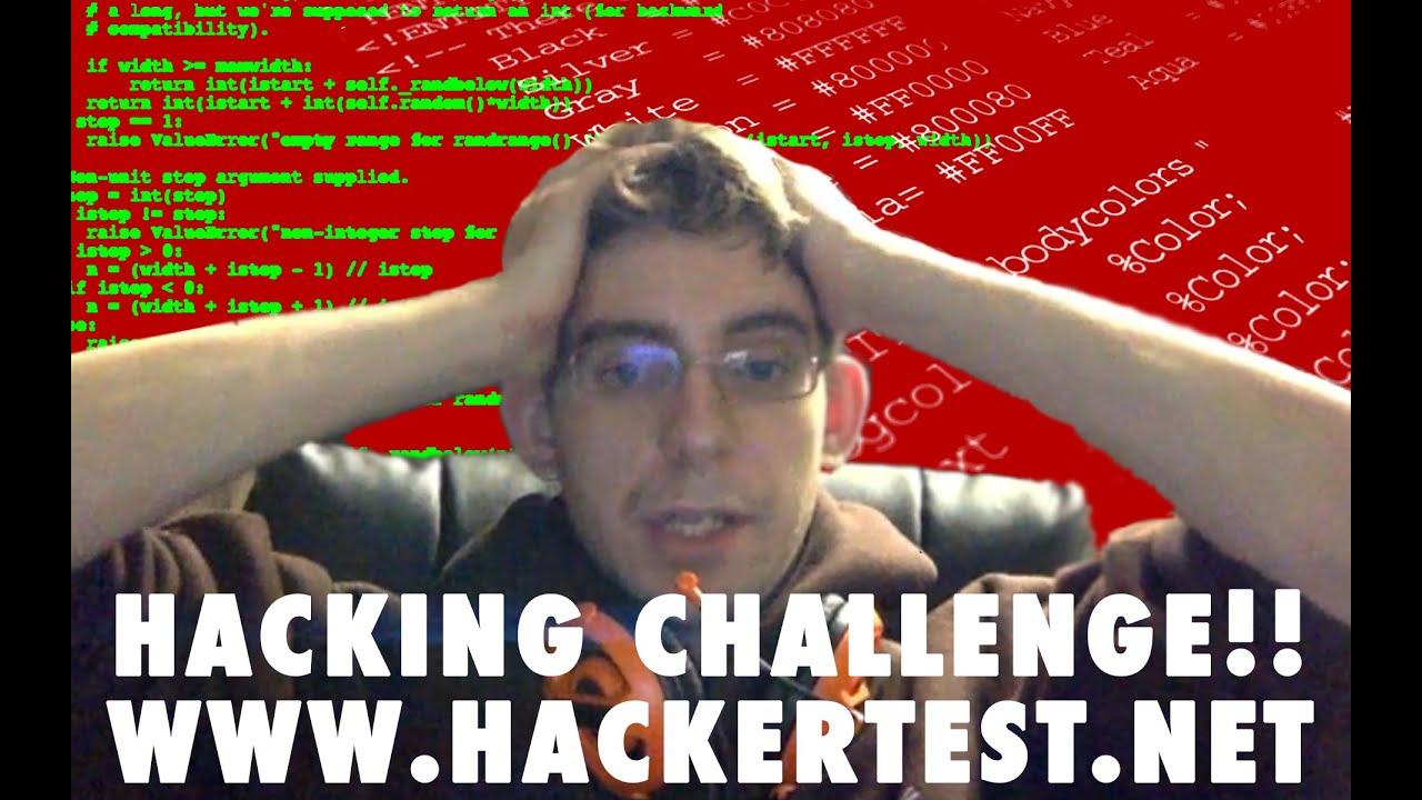 Hacking Challenge Complete! - Full HackerTest net