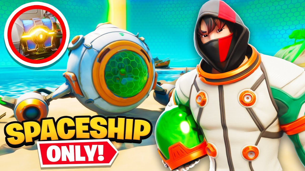 *SECRET* Spaceship loot ONLY Challenge in Fortnite! thumbnail