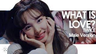 Download Lagu [MALE VERSION] TWICE - What is love? Mp3