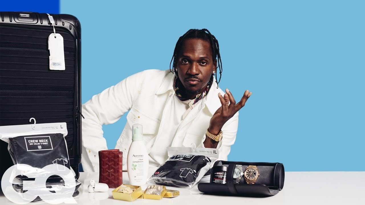 10 Things Pusha-T Can't Live Without