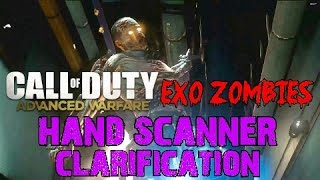 advanced warfare exo zombies easter egg step 7 logging in hand scanner clarification