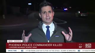 Police commander killed in Phoenix shooting