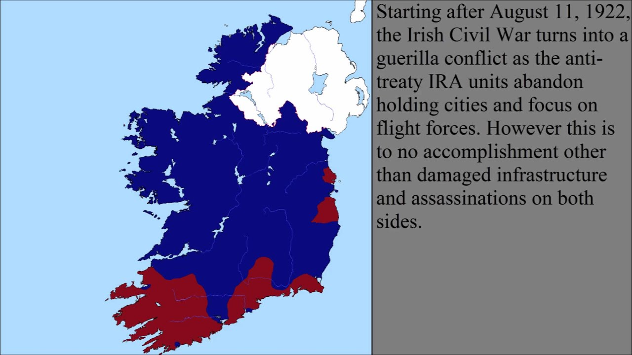 was the irish civil war a The irish civil war 28 june 1922 – 24 may 1923) was a conflict that followed the irish war of independence and accompanied the establishment of the irish free state, an entity independent.