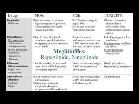 Diabetes Treatment [Highly Tested Topic]