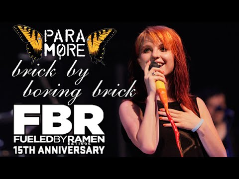 Paramore - Brick By Boring Brick (Fueled By Ramen 15th Anniversary LIVE) HD