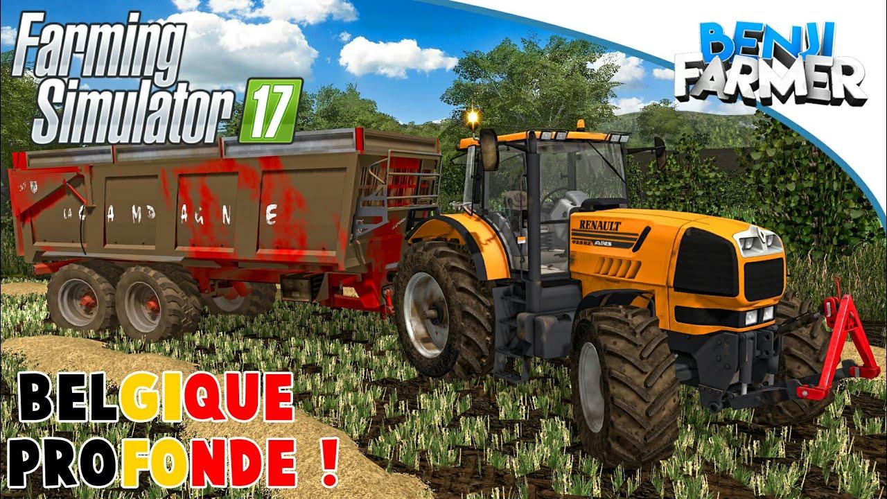 ma version de belgique profonde pour vous farming simulator 17 youtube. Black Bedroom Furniture Sets. Home Design Ideas