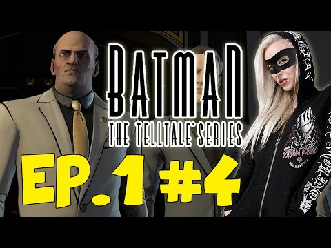 FIGHT WITH FALCONE FAIL! - Let's Play Batman: The Telltale Series #4 (Episode 1)