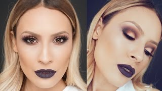 "Vampy Makeup look with melt ""Dark matter"" Stack Thumbnail"