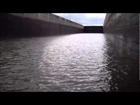 60 mile Ohio River trip through locks and all.