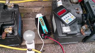 12V Solar Power System - Testing the Batteries