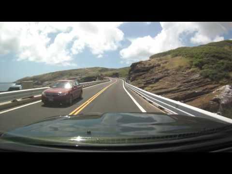 Hawaii Driving - Waimanalo to Manoa via Kalanianaole Hwy