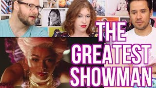 the greatest showman trailer reaction hugh jackman zendaya