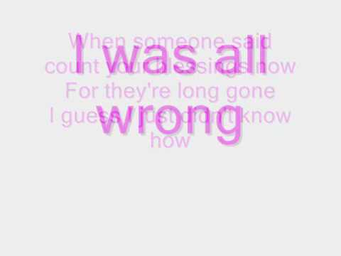 Pink - Who knew w/lyrics