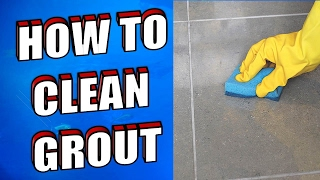 How To Clean Grout Using Hydrogen Peroxide, Baking Soda & Vinegar