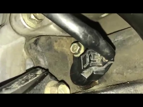 P0335 Crank Shaft for a Nissan Sentra 2006 replace it - YouTube