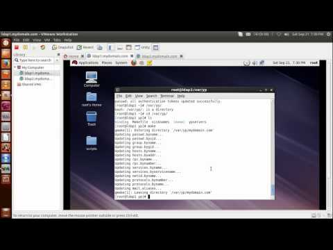 NIS Server installation and configuration with rhel 6.3