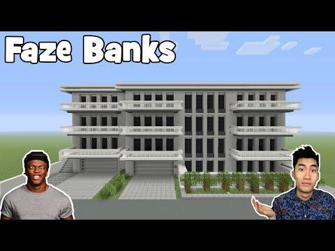 """Minecraft Tutorial: How To Make Faze Banks House / Rice Gums House """"Rice Gums House"""""""