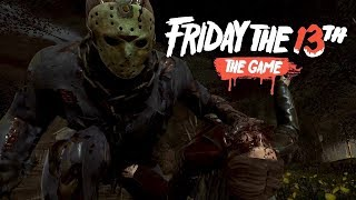 friday the 13th the game: Ps4 platform: Massacre at camp crystal lake