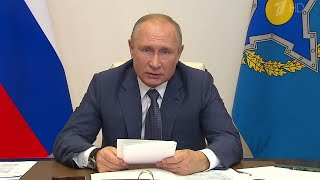 Коронавирус Карабах вмешательство в дела Белоруссии и Киргизии вызовы коллективной безопасности