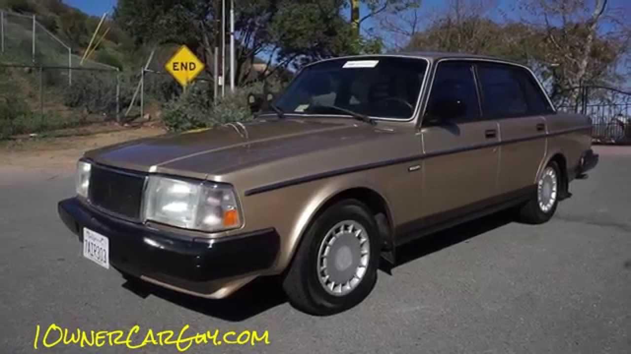 1990 Volvo 240 Dl Review Brick De Luxe 240dl Classic Car