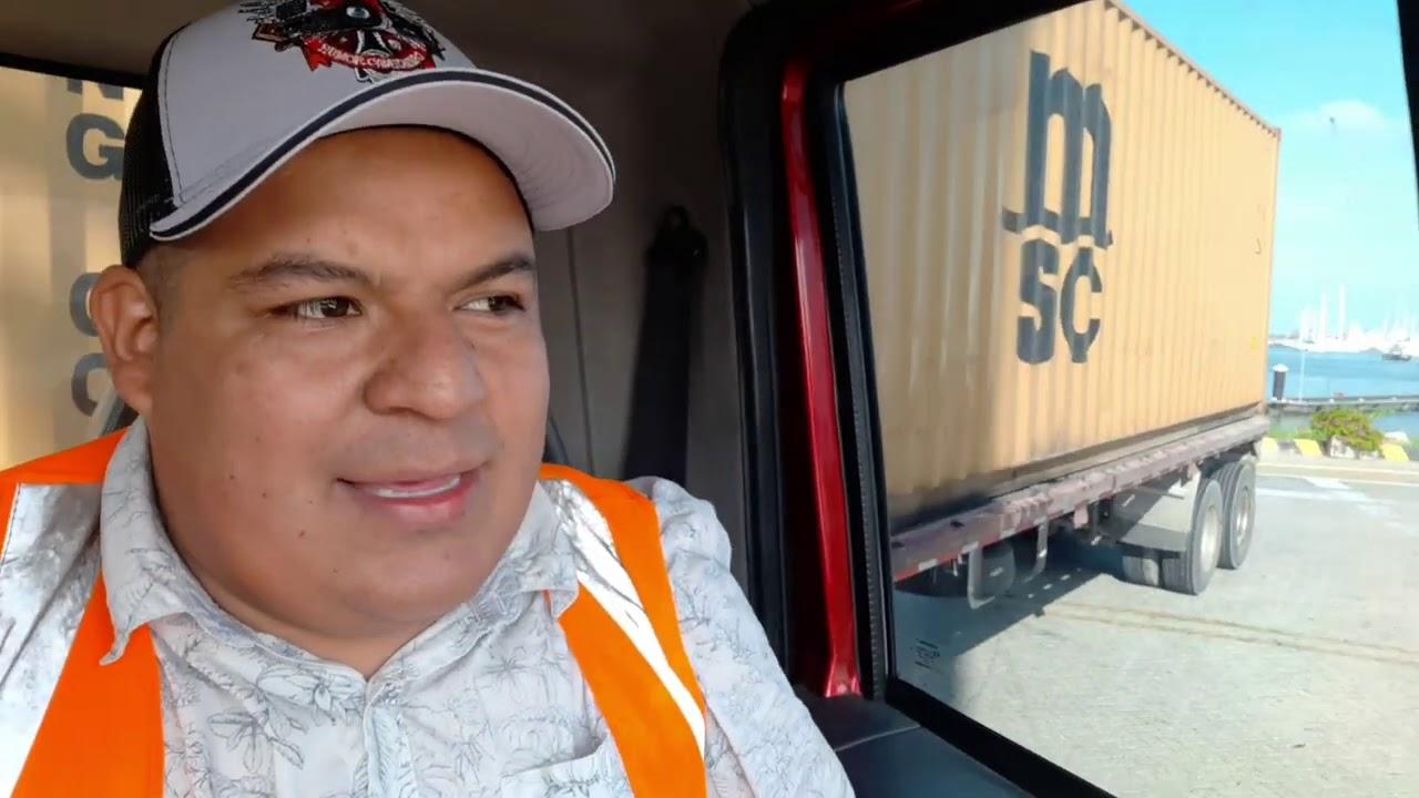 como DESCARGAR contenedor en el PUERTO  | Albeiro  Leon