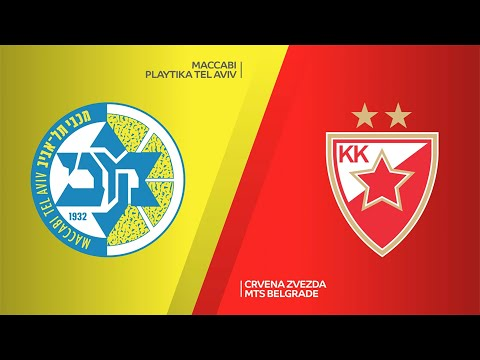 Maccabi Playtika Tel Aviv - Crvena Zvezda mts Belgarde Highlights | EuroLeague, RS Round 12