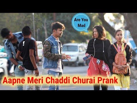 Aapne Meri Chaddi Churai Prank | Prank In India | Oye Indori | Best Prank 2018