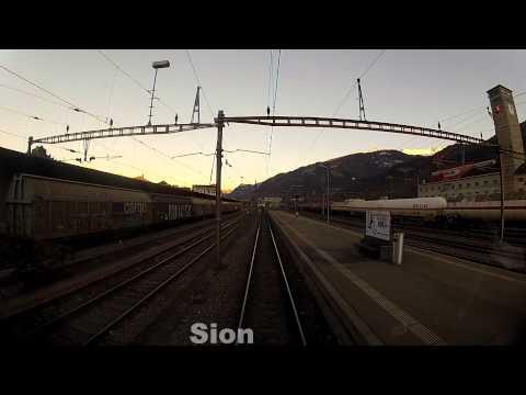 Genève - Brig part. 2