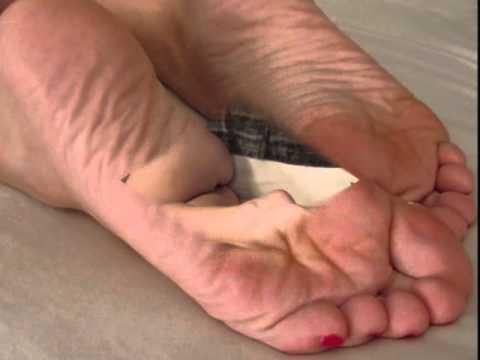 granny bare feet
