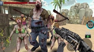 Zombie Shooter : Fury of War Android Gameplay #2
