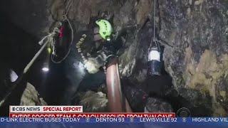 Thailand Soccer Team Rescue Complete: Last People Pulled From Cave