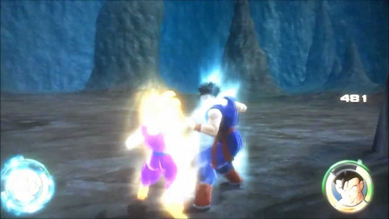 Sangohan Ado Vs Sangohan Adulte Dragon Ball Racing Blast 2 22