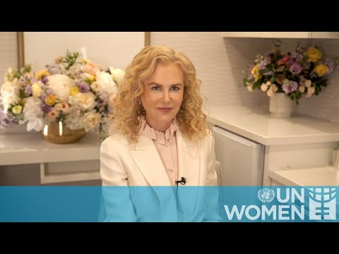 Nicole Kidman: -Play your role in ending violence against women-