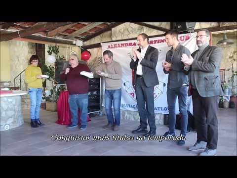 Apresentação da Equipa de Triatlo do Alhandra