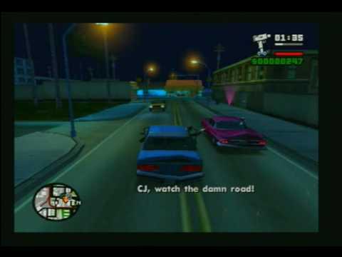 GTA San Andreas Mission - Drive-Thru